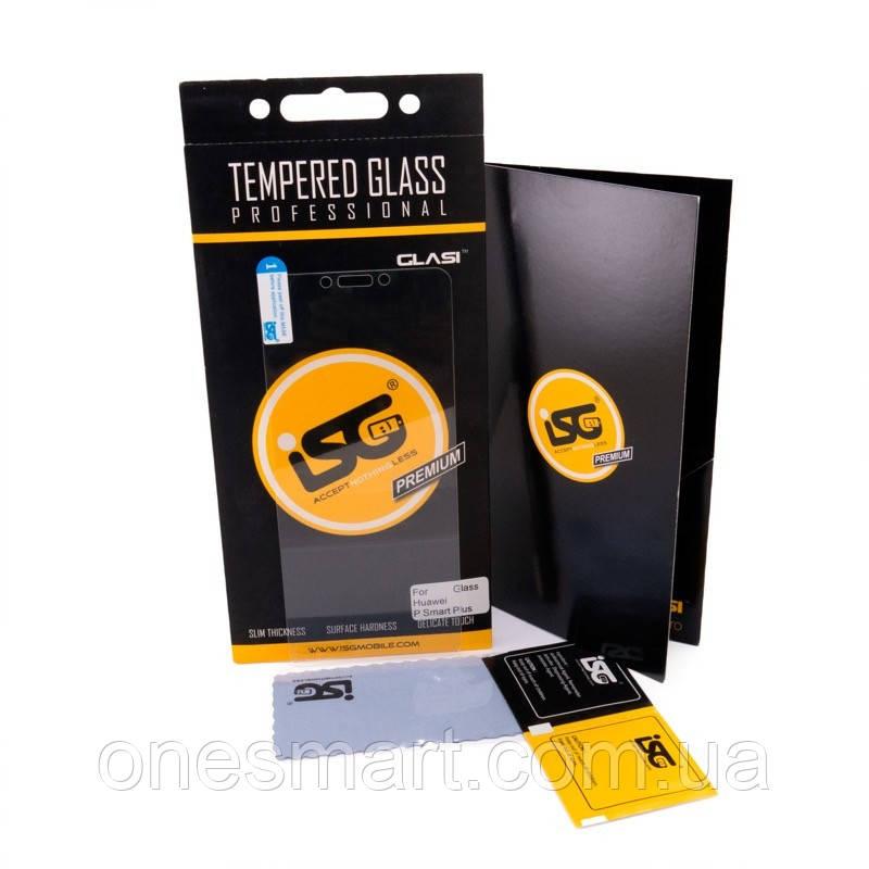 Защитное стекло iSG Tempered Glass Pro для Huawei P Smart Plus