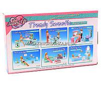 Детская игрушечная мебель Глория Gloria для кукол Барби Бассейн 2578. Обустройте кукольный домик , фото 4