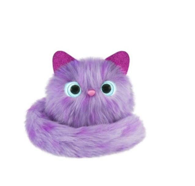 Интерактивная игрушка SUNROZ Котенок Pomsies Фиолетовый (SUN2286)