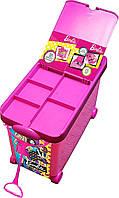 Органайзер для кукол барби и аксессуаров для кукол Tara Toys Barbie 20-Doll Store It All Portable Trunk