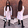 Женское пальто-кардиган в расцветках. БЛ-1-0918, фото 2