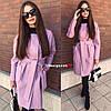 Женское пальто-кардиган в расцветках. БЛ-1-0918, фото 3