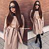 Женское пальто-кардиган в расцветках. БЛ-1-0918, фото 6