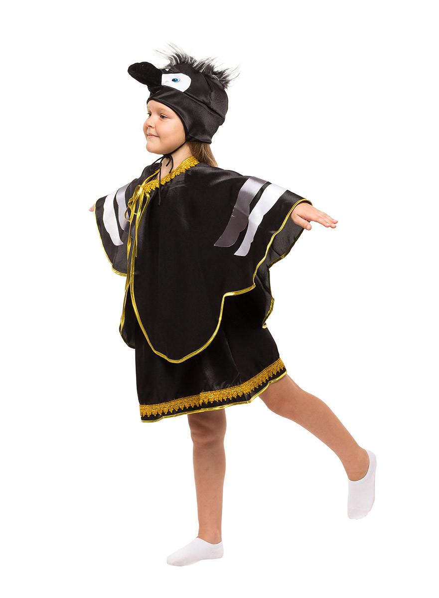 Костюм Вороны для девочки М-рост 118-124
