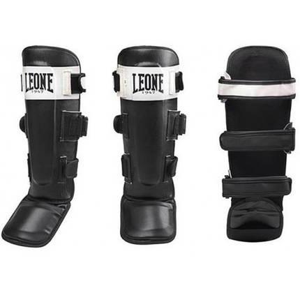 Защита голени Leone Shock Black S, фото 2