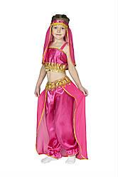 Костюм принцессы Жасмин, восточной красавицы малиновый