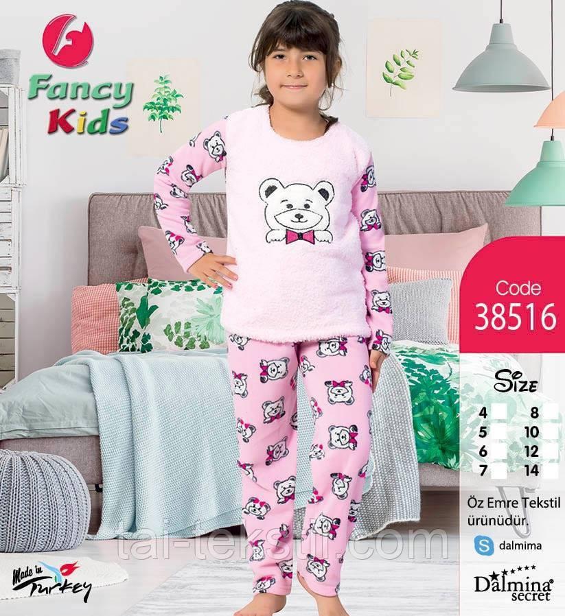 Пижама подросток махра+флис 8-14 лет Night Angel № 9707