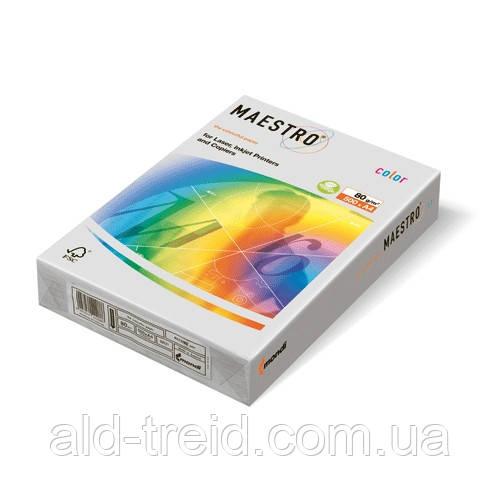 Цветная бумага А4 80 г/м2 GR21 серый