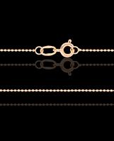 Цепочка плетение Гольф Золотая