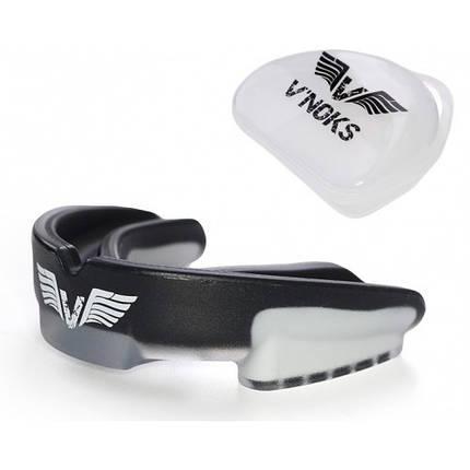 Капа боксерская V`Noks 3D Gel Aria Black, фото 2