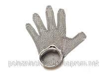 Перчатка кольчужная S, белый ремень FoREST