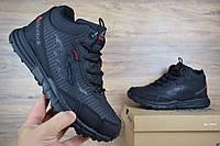 Мужские зимние кроссовки в стиле Reebok one sawcut gtx черные . Код товара ОД -3161