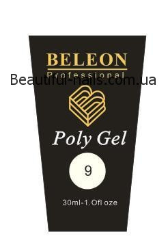 Полигель Beleon 30 грамм  №9 white