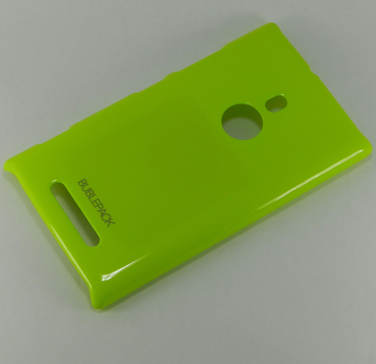 Чехол пластиковый на Nokia Lumia 925 Bubble Pack Лайм