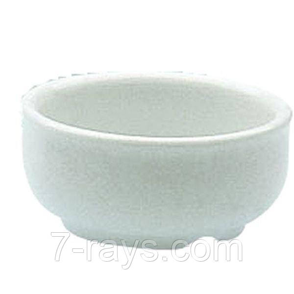 Соусник фарфоровый 7х2,5 см. круглый, белый Culinary, Porvasal