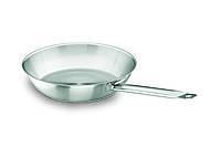 Сковорода нержавеющая сталь 24х4,5 см. без покрытия Lacor