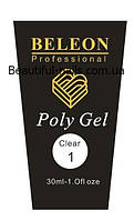 Полигель Beleon 30 грамм  №1 clear, фото 1