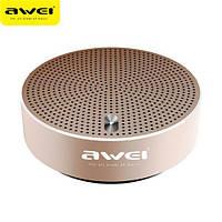 Портативная акустика AWEI Y800 Bluetooth Speaker Gold (Оригинал)