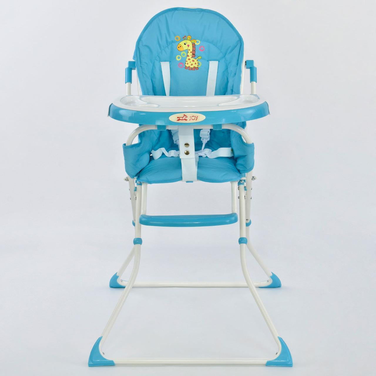 Стільчик для годування JOY 8857 блакитний