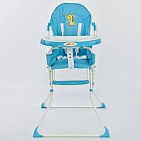 Стільчик для годування JOY 8857 блакитний, фото 1