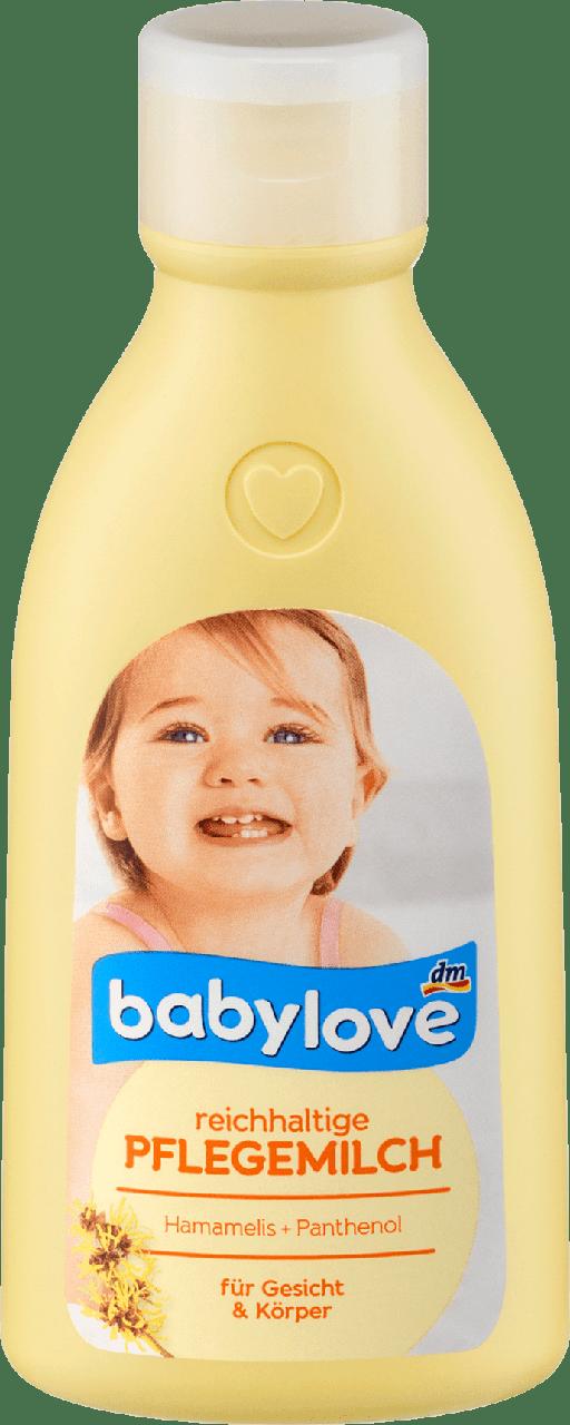 Молочко для тела Babylove Pflegemilk