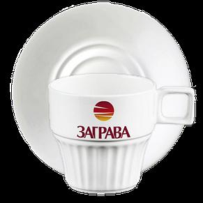 Чашка с блюдцем чай 250 мл, фото 2