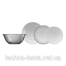 Столовый сервиз 19 предметов Trianon Graphite Luminarc N5755