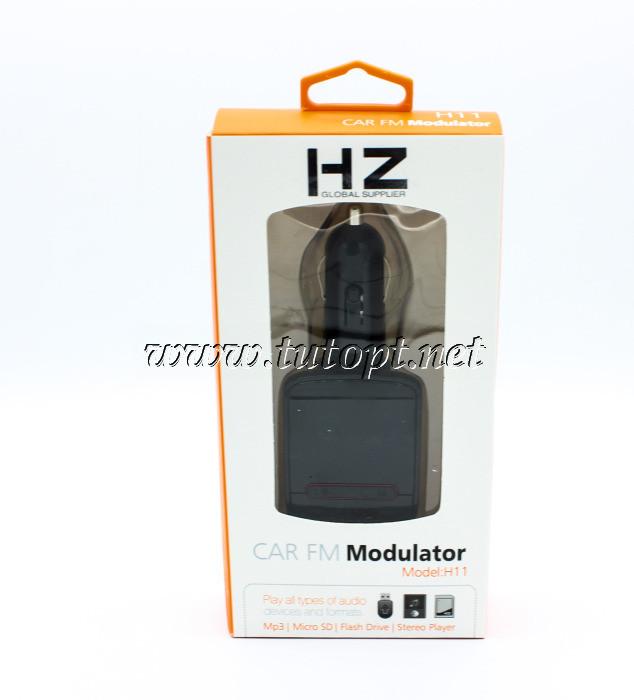 FM Модулятор для Авто HZ H11, Bluetooth, MP3, USB, AUX