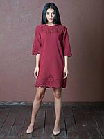 e3584c91d50 Стильное платье с перфорацией в Украине. Сравнить цены