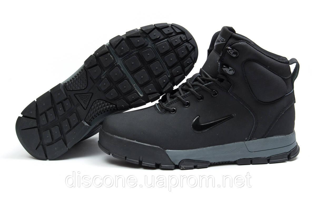 Зимние мужские ботинки 30393 ► Nike ACC Winter, черные ✅SALE! % ► [ нет в наличии ]