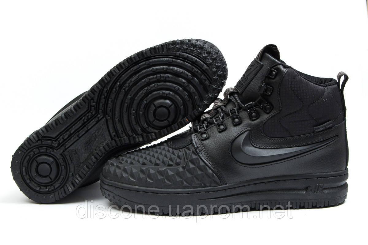 Зимние ботинки на меху ► Nike LF1 Duckboot,  черные (Код: 30401) ►(нет на складе) П Р О Д А Н О!
