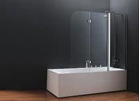 Шторка для ванны koller pool QP96 chrome transparent R, фото 1