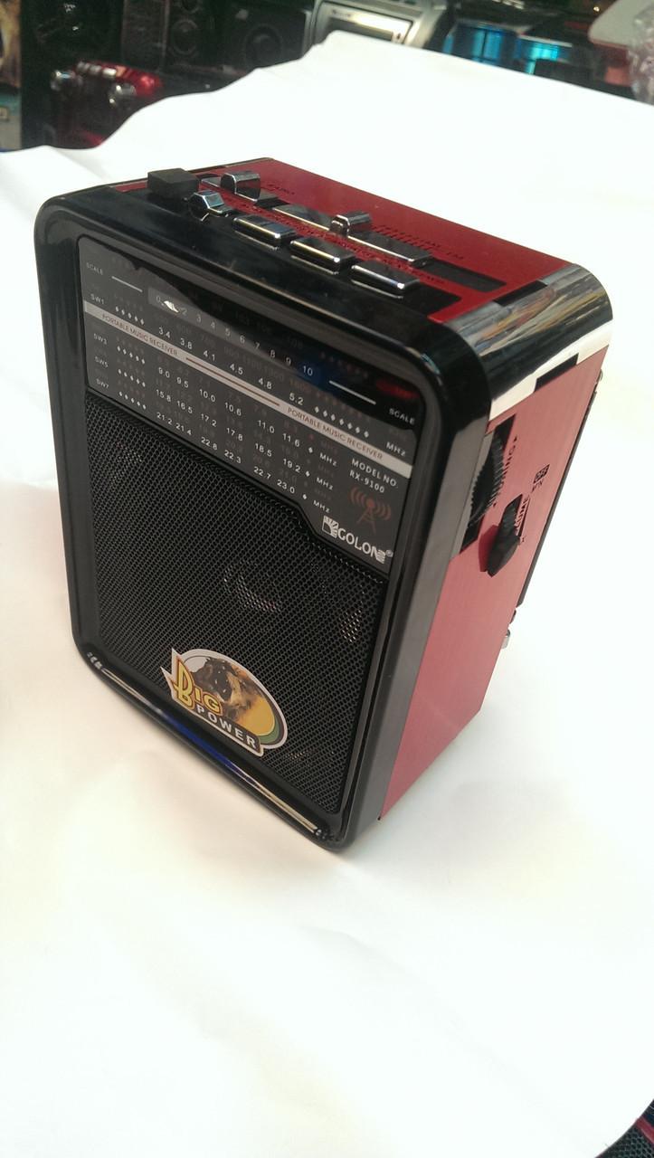 Радиоприемник с расширенным диапазоном  Rx-9100