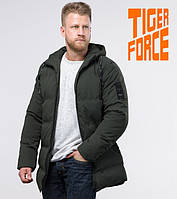 Tiger Force 70911   Мужская зимняя куртка темно-зеленая