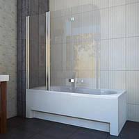 Шторка для ванны koller pool QP96 chrome transparent L, фото 1