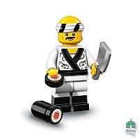 Lego Фигурка Series Ninjago 19 Sushi Chef Суши шеф Оригинал Новая