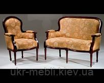 """Мебель из дерева в стиле прованс, диван """"Элит Лавка"""", Украина"""