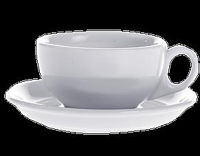 Чашка с блюдцем каппучино/американо 250 мл, фото 2