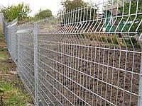 Забор из сварной сетки с установкой