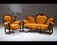 Элитная мебель из дерева Президент, диван.