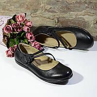 Туфельки школьные Eleven shoes две ниточки 09-16-00315, р. 31 - 37