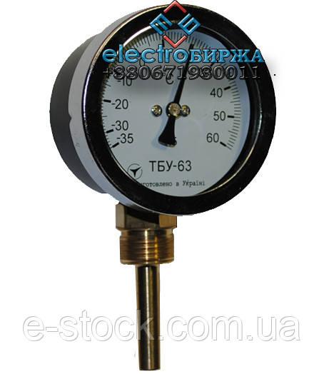 Термометр биметаллический радиальный ТБУ 63