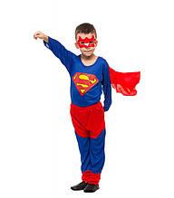 """Костюм супер героя """"Супер Мэн """"карнавальный детский новогодний на хэллоуин для мальчика размер L M S"""