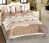 Двуспальный комплект постельного белья Элегант БЕЖ