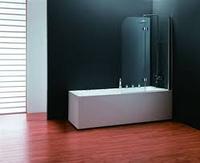 Шторка для ванны koller pool QP97 chrome transparent R, фото 1