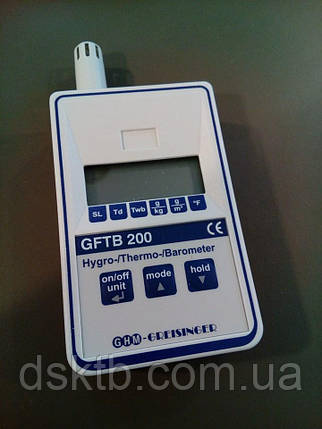 Термогигрометр барометр Greisinger GFTB 200 (Германия), фото 2
