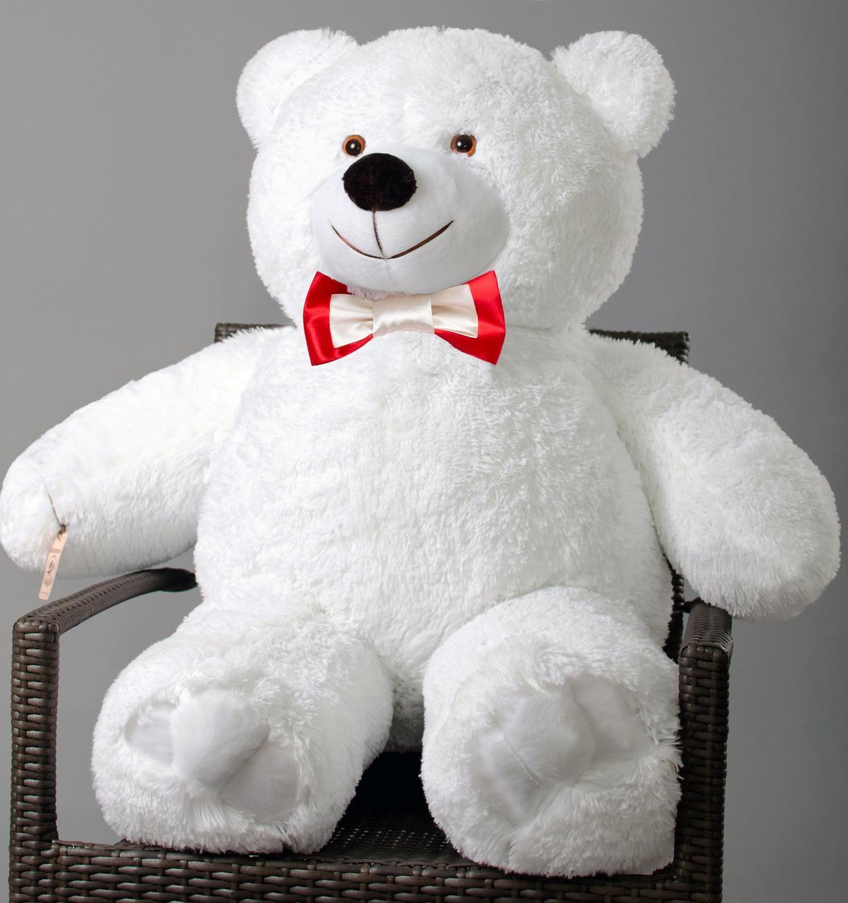 Плюшевый мишка Mister Medved Белый 110 см (Мягкая плюшевая игрушка)