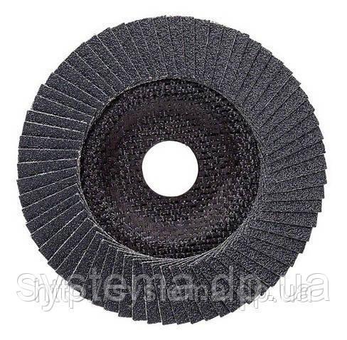 Лепестковый шлифовальный круг BOSCH Expetr for Мetal, угловое исполнение125х22.23, P40