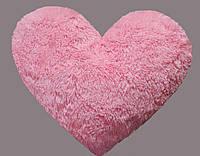 Плюшевая игрушка Mister Medved Подушка-сердце Розовая 50 см (Мягкая плюшевая игрушка)