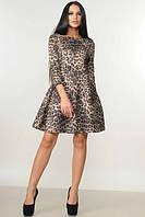 Женское платье Лайма леопард